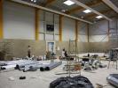 aktuelle Fotos zum Hallenbau - März 2014