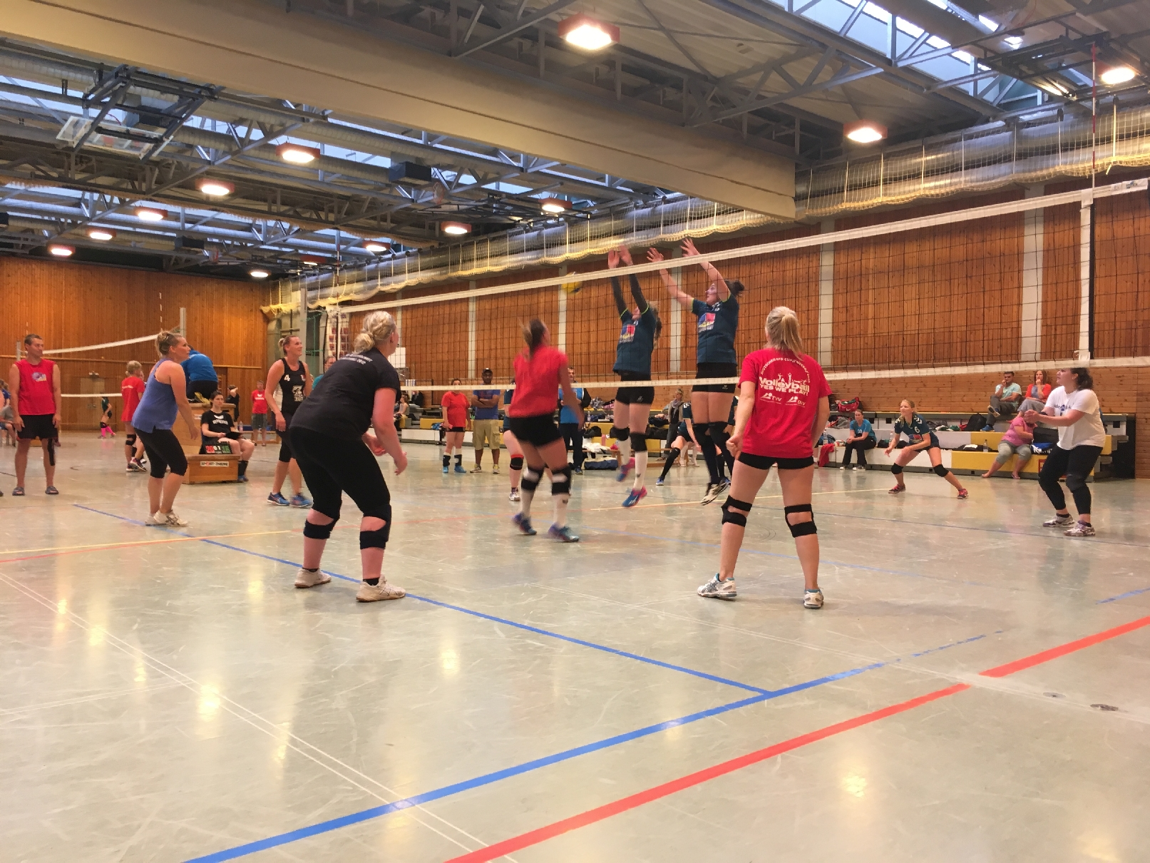 20180526 9 Damenvolleyballturnier Bild17