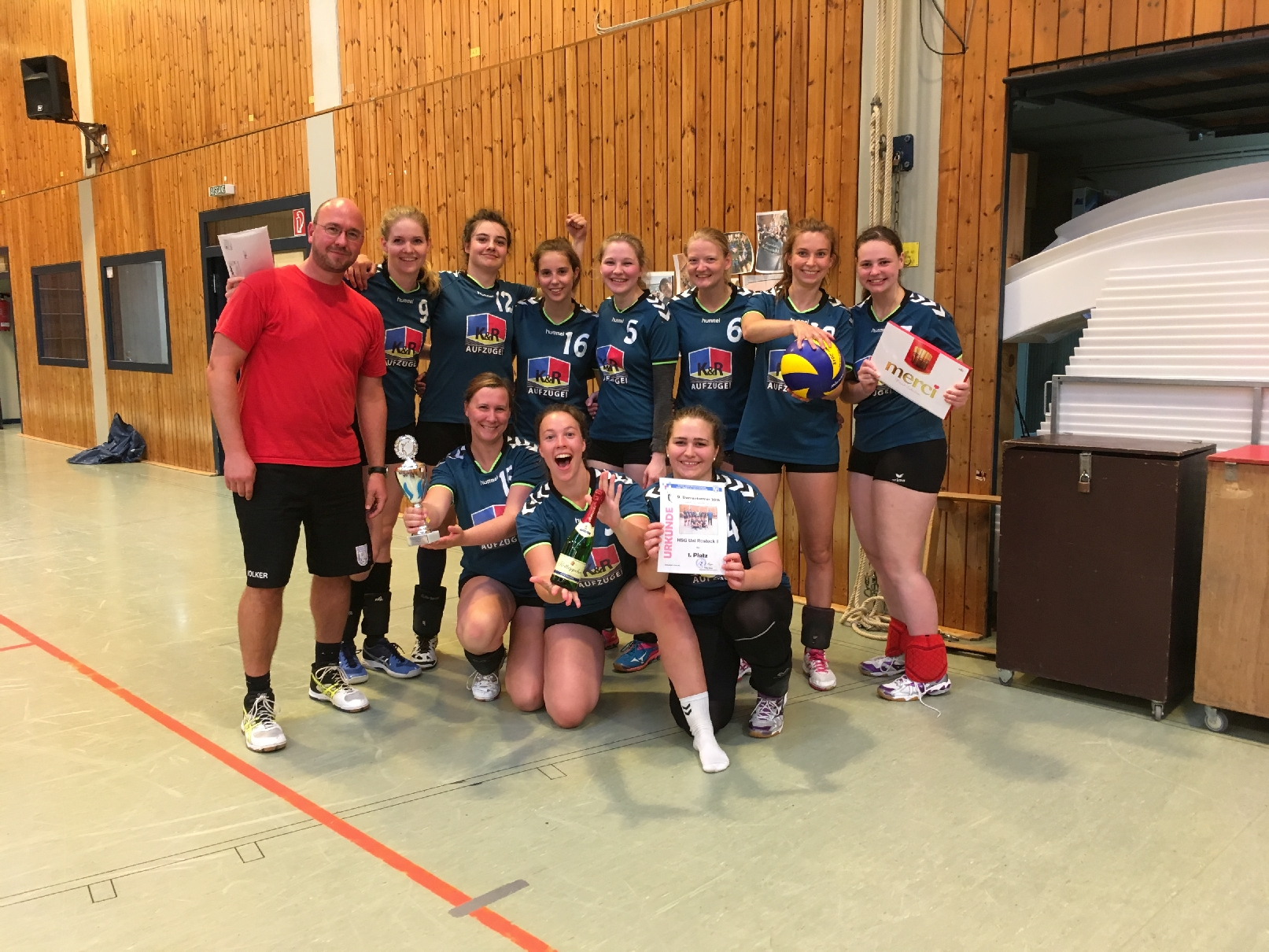 20180526 9 Damenvolleyballturnier Bild28