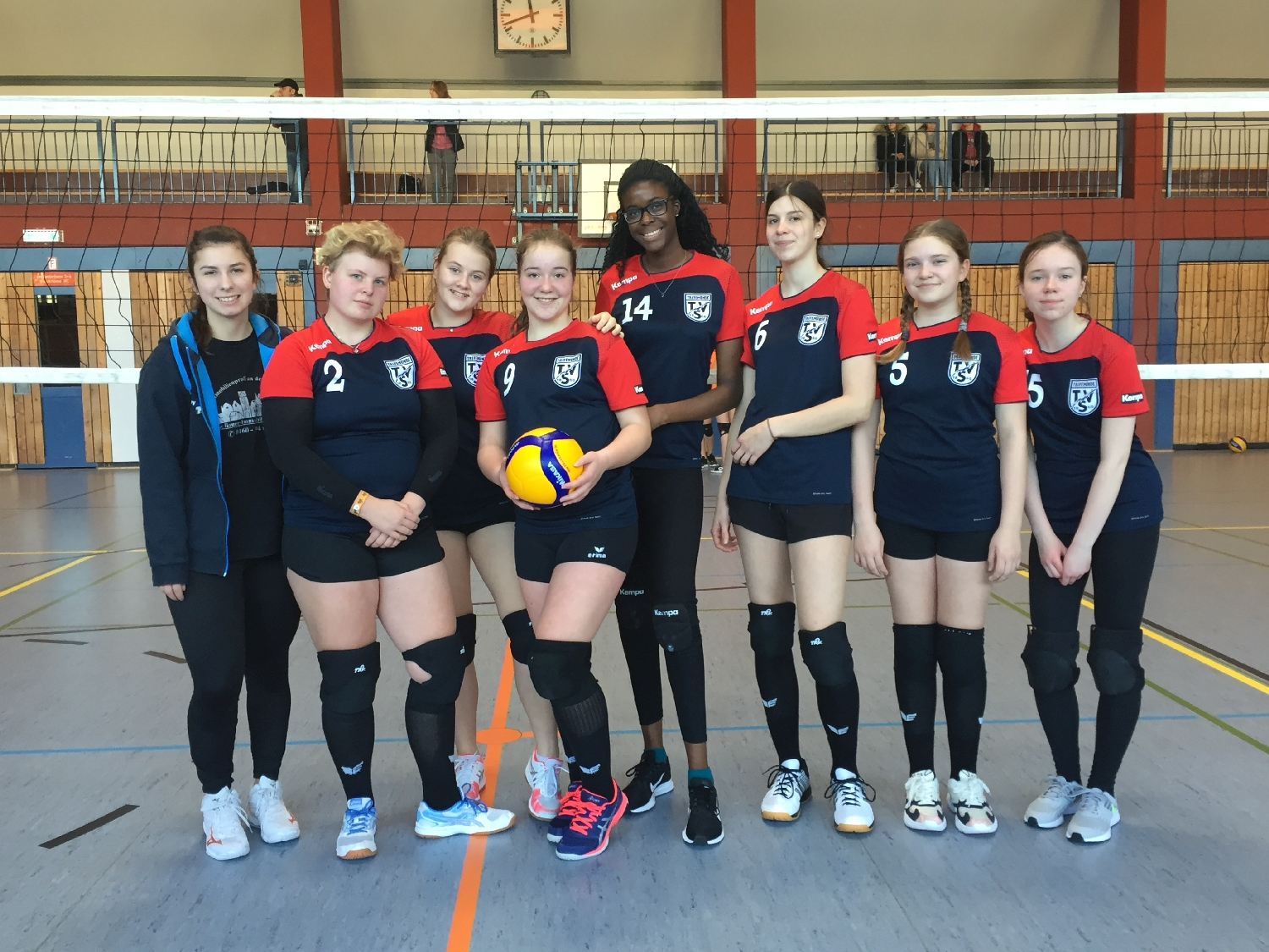 20200119 U18 Volleyballerinnen Bild1